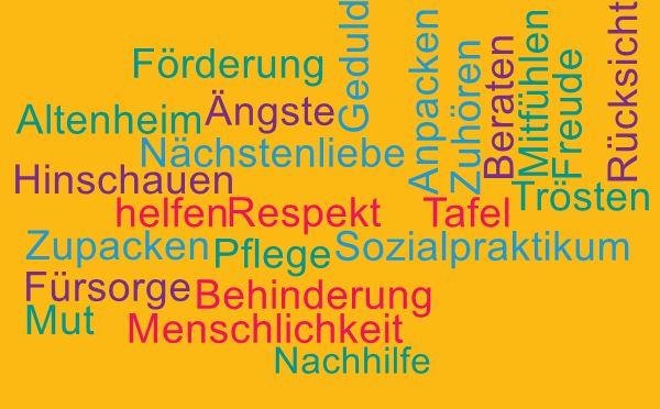 wordcloud Sozialpraktikum
